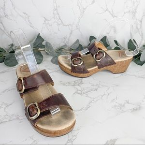 Dansko Sophie Teak Vintage Sandals